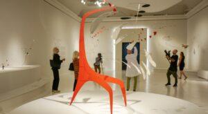 a sculpture by Alex Calder