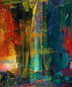 gerard richter painting Abstraktes Bild