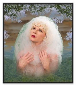 dye sumblimation metal print by Cindy Sherman